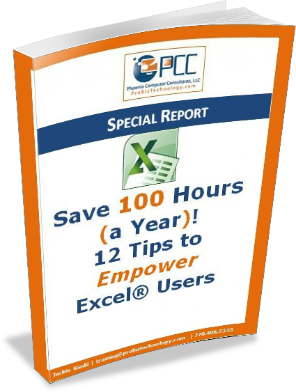 12 Tips to Empower Excel Users