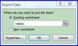 Excel Tip - How to Import HTML Tables Into Excel - Microsoft Office