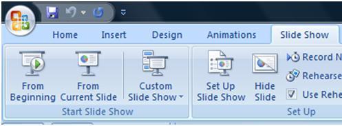Advanced PowerPoint 2007 Tutorial - Custom Slide Shows - Microsoft